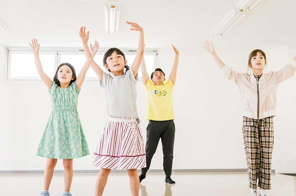 英語×演劇 E-JAM Studioのキッズレッスンは楽しく自由に!